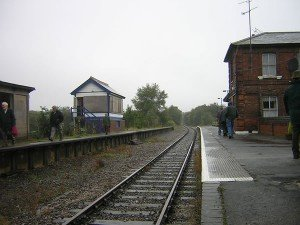 North Weald on a very rainy day in 2008