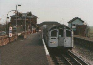 Tube Stock at North Weald